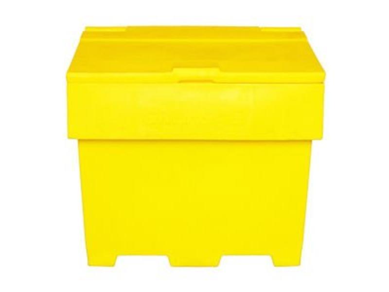 Eigen merk Zoutkist geel 170 L