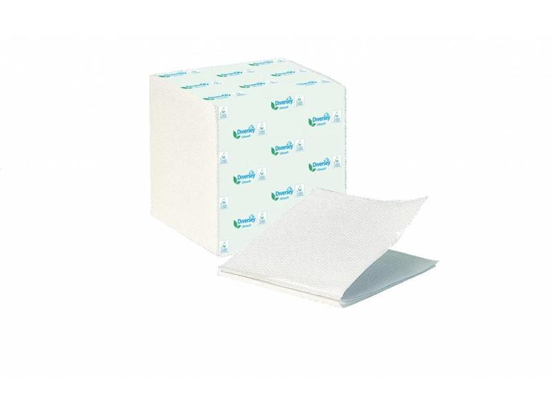 Johnson Diversey Gevouwen Toilerpapier Puur Cellulose (2 laags)
