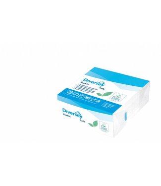 Johnson Diversey Servetten Puur Cellulose (2 laags)