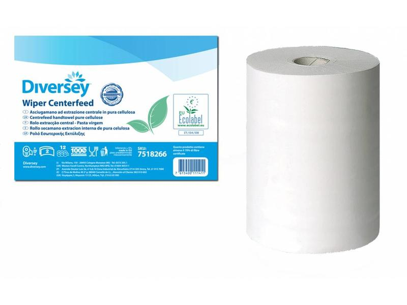Johnson Diversey Poetsrol Cellulose (2 laags) - 60m