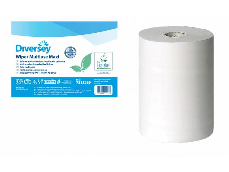 Johnson Diversey Multirol Maxi Gelamineerd Cellulose (2 laags)