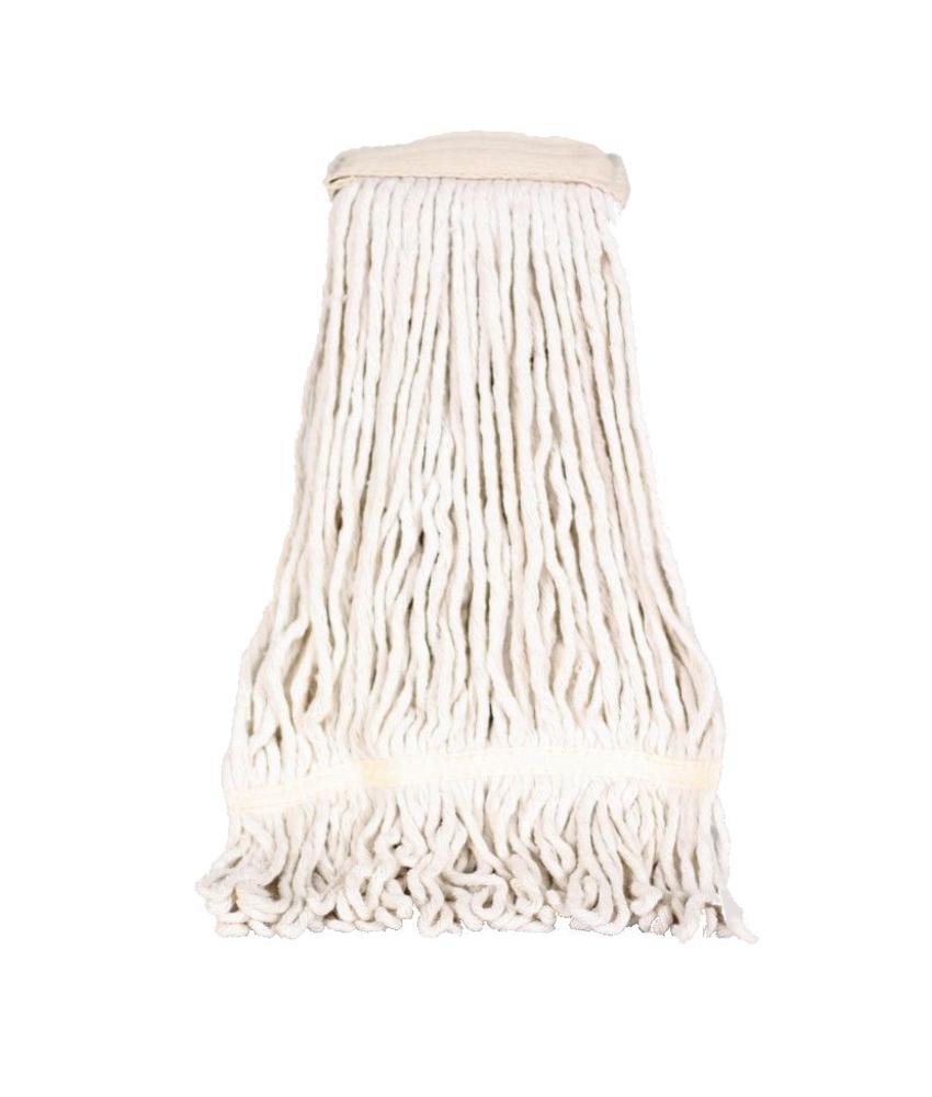 Strengenmop katoen met band - 450 gram