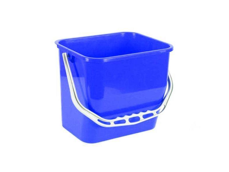 Eigen merk Materiaalwagenemmer blauw - 6 liter