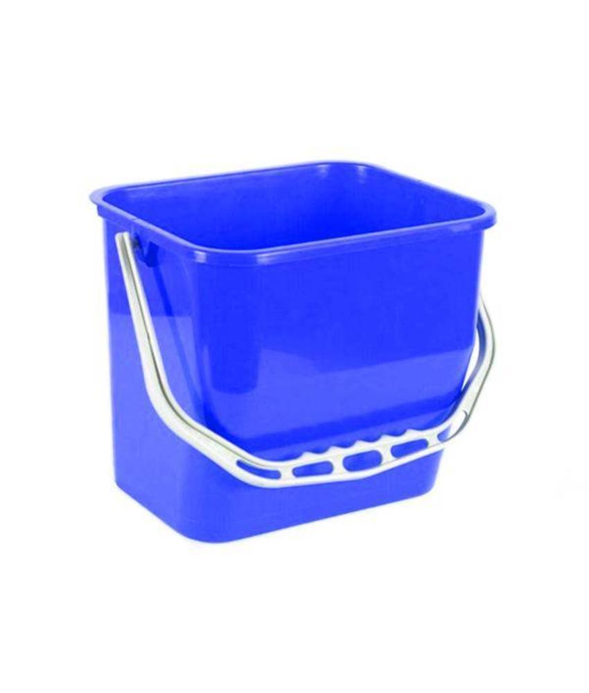 Materiaalwagenemmer blauw - 6 liter