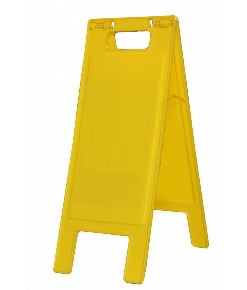 Signaalbord geel blanco