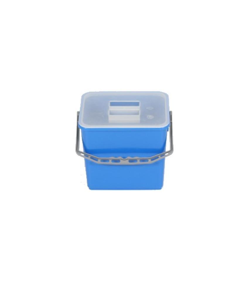Deksel voor 6 liter emmer transparant