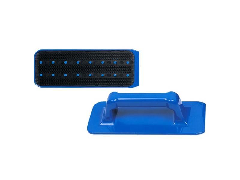 Eigen merk Jumbo padhouder met handgreep blauw