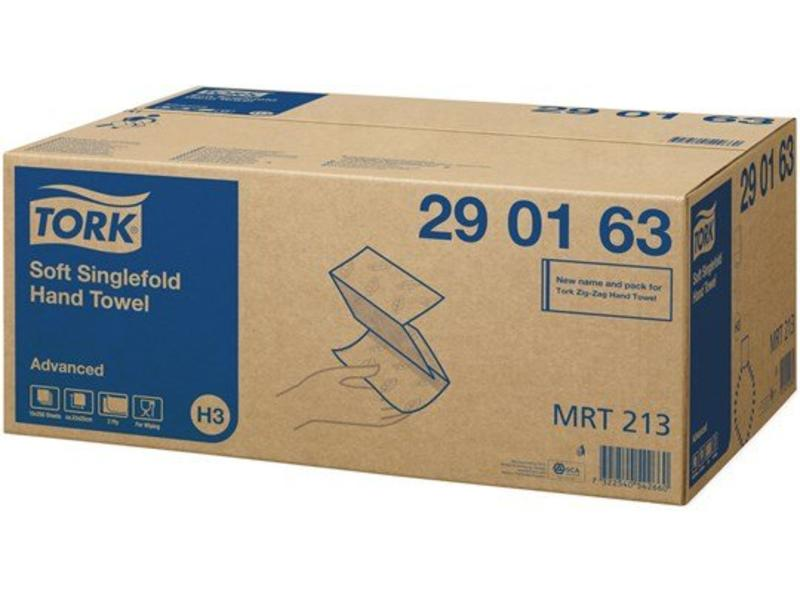 Tork Tork Zachte Z-vouw Handdoek 2-laags Wit H3 Advanced