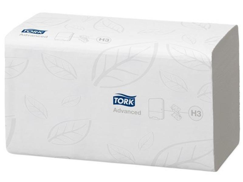 Tork Tork Doorspoelbare Z-vouw Handdoek 2-laags Wit H3 Advanced