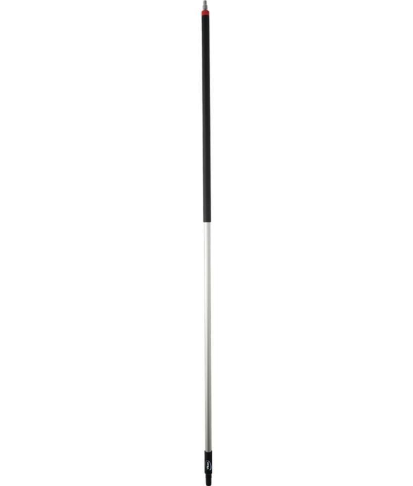 Ergonomische lange steel  met waterdoorvoer met slangpilaar