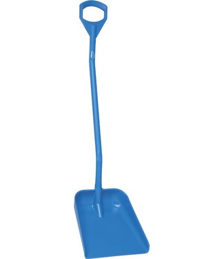 Vikan Vikan, Ergonomische schop, groot blad, 1310mm lang, blauw
