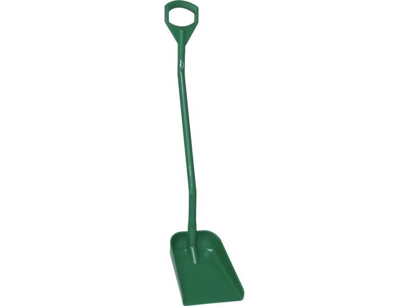 Vikan Vikan, Ergonomische schop, lange steel 1300mm, klein blad, groen