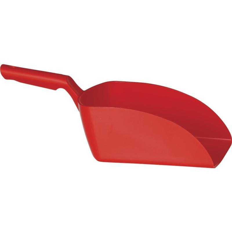 Vikan, Rechte handschep, groot, 2 liter, rood