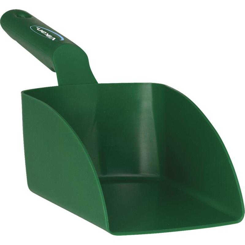 Vikan, Rechte handschep, medium, 1 liter, groen