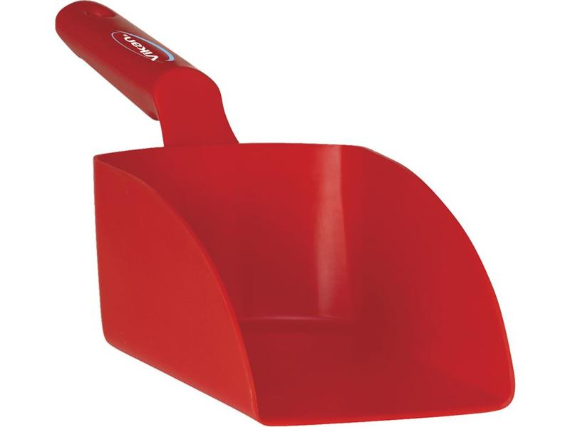 Vikan Vikan, Rechte handschep, medium, 1 liter, rood