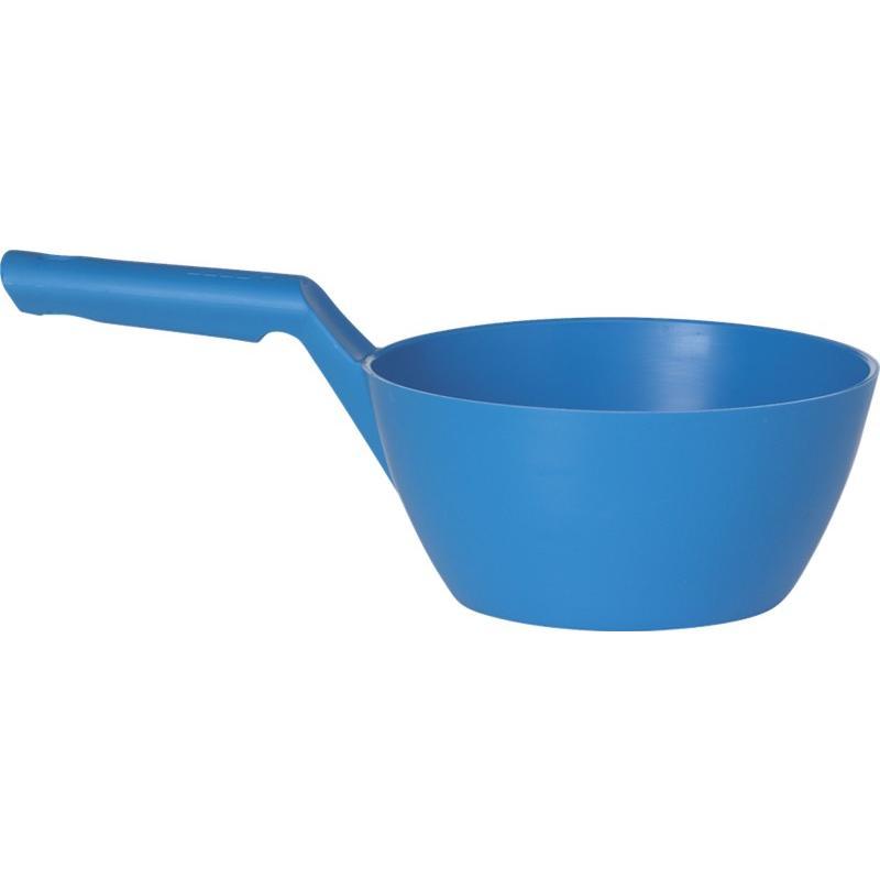 Vikan. Ronde schepbak 1 liter, blauw