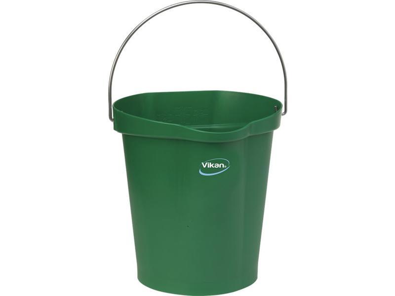 Vikan Vikan, Emmer 12 liter, groen