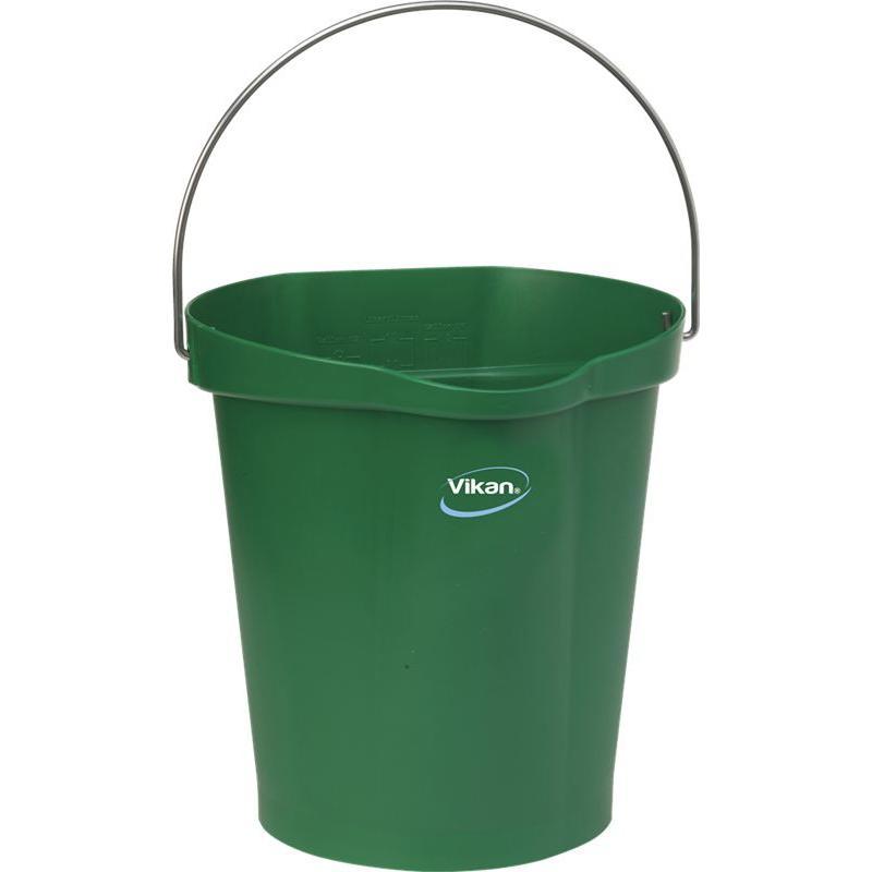 Vikan, Emmer 12 liter, groen