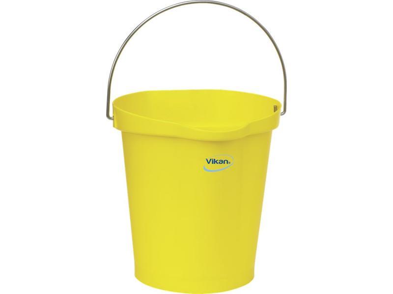 Vikan Vikan, Emmer 12 liter, geel