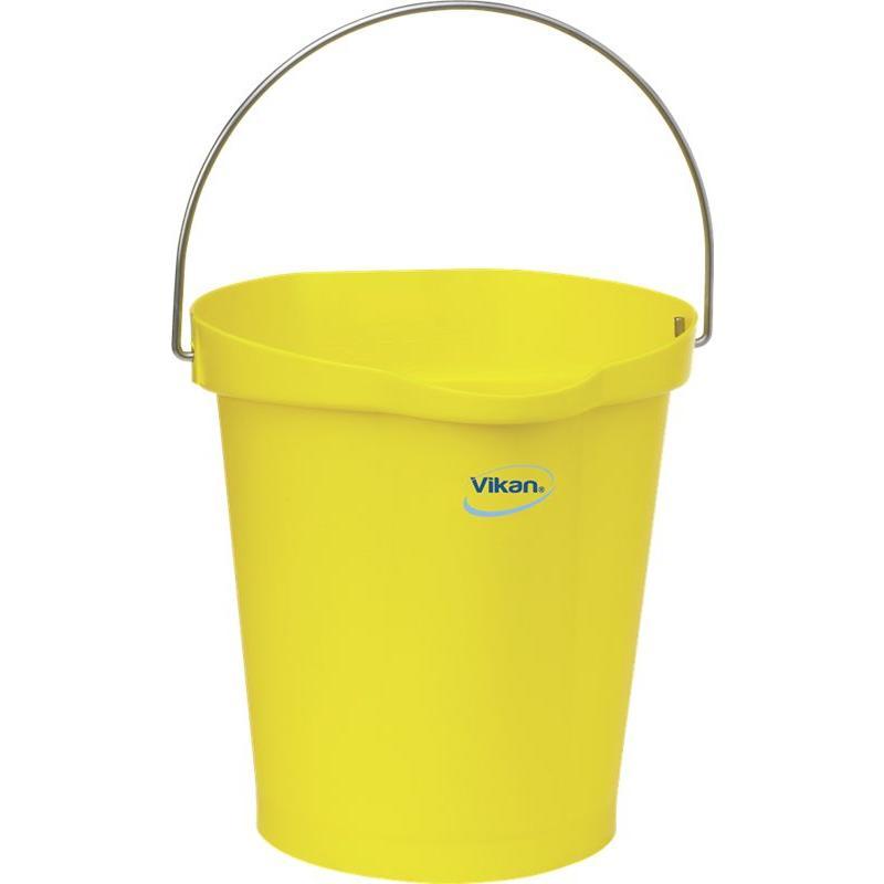 Vikan, Emmer 12 liter, geel