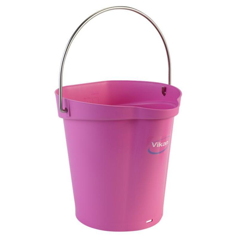 Vikan, Emmer 6 liter, roze