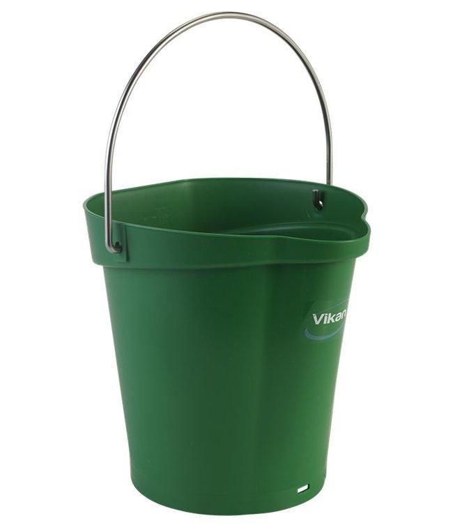 Vikan Vikan, Emmer 6 liter, groen