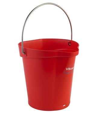Vikan Vikan, Emmer 6 liter, rood