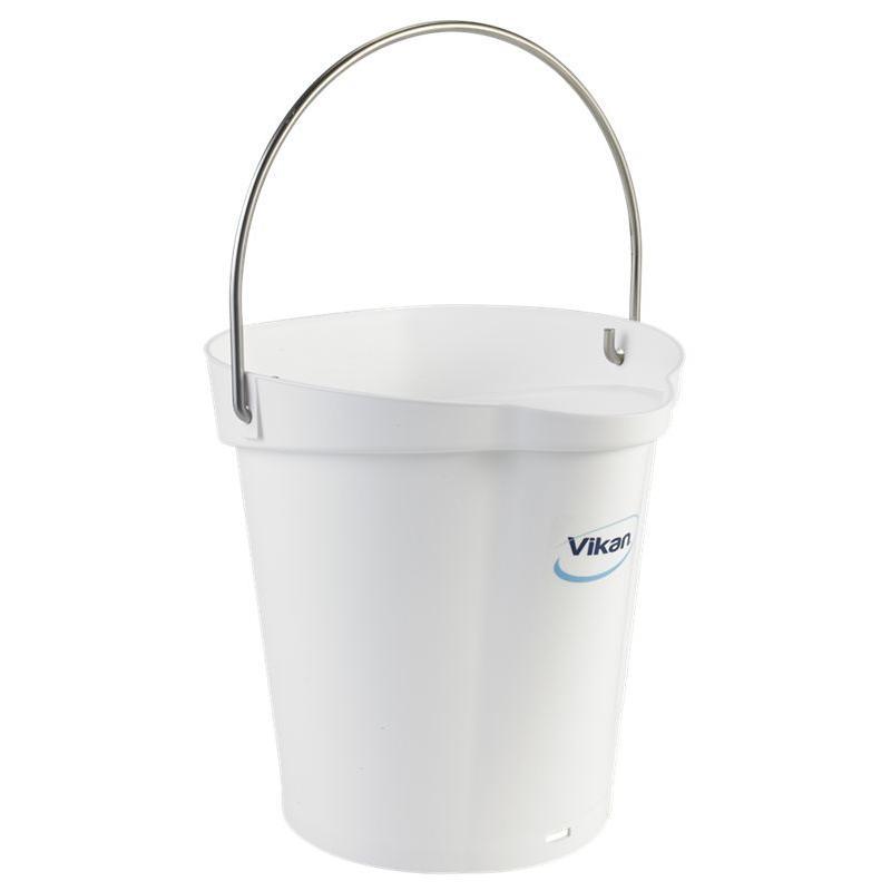 Vikan, Emmer 6 liter, wit