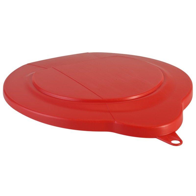 Vikan, deksel voor 6 liter emmer, rood