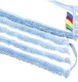 Eigen merk Microvezel-combi blauw/wit multi
