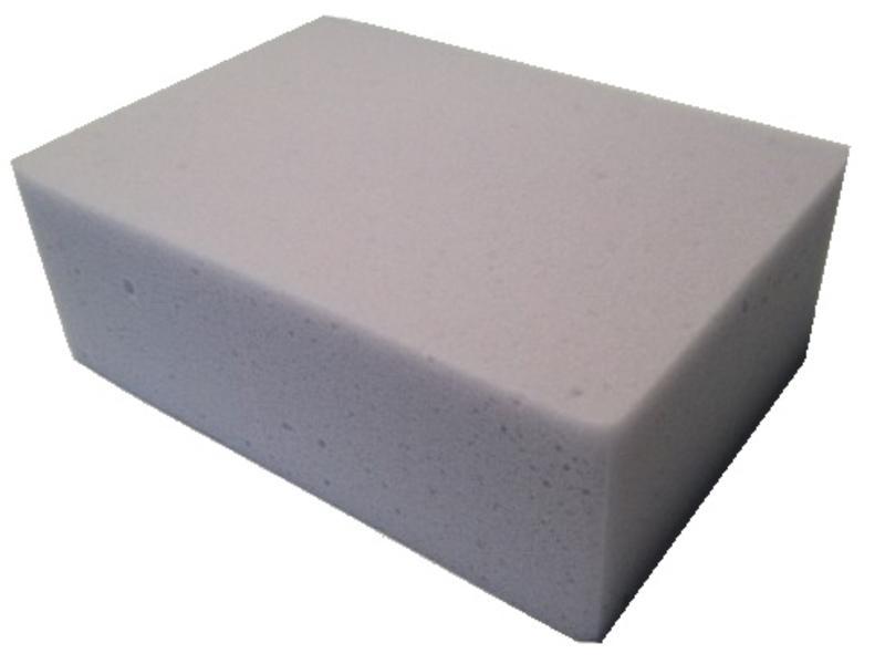 Eigen merk Melamine spons grijs (pak á 10 stuks)