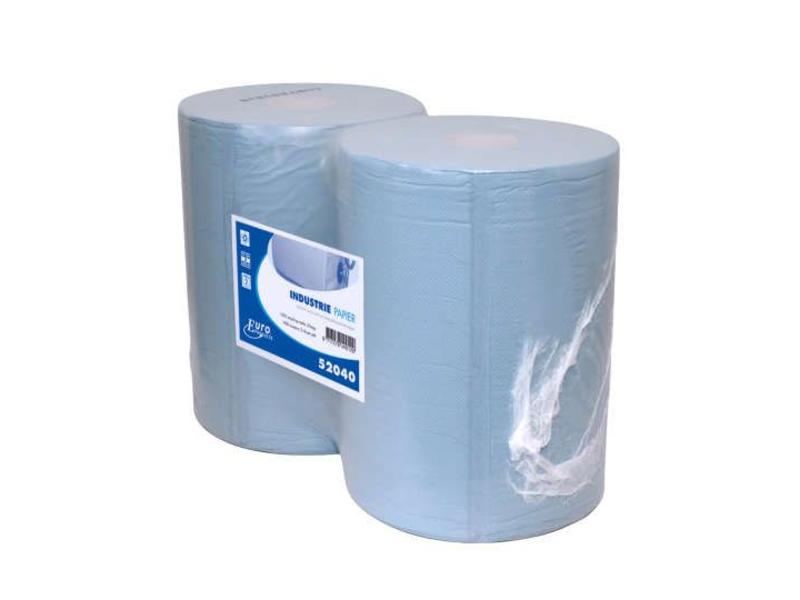 Euro Products Euro Products 2-laags Industriepapier blauw recycled