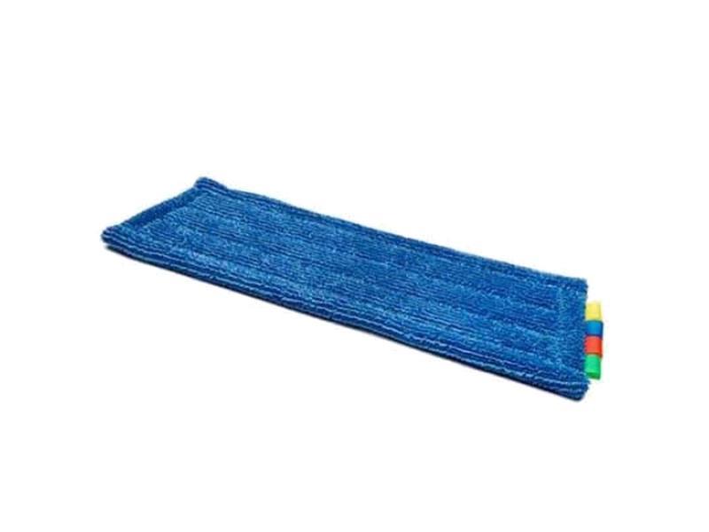 Eigen merk Microvezel blauw multi pockets en flap met 3 ringen