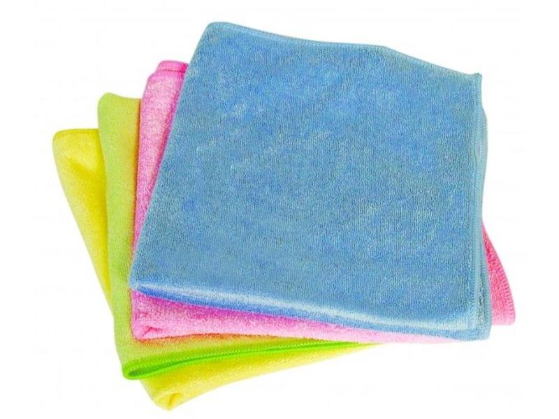 Eigen merk Microvezeldoek 200/230 gram - Blauw