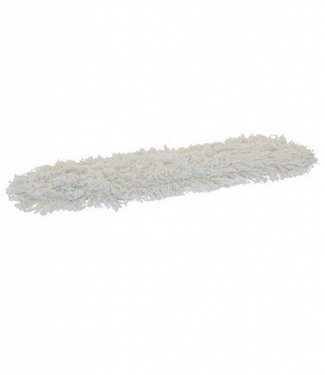 Eigen merk Zwabberhoes katoen met drukknopen - 100cm