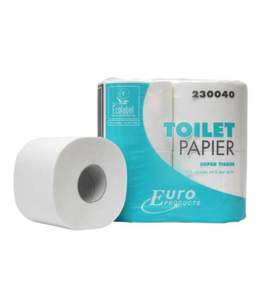 Euro Products Toiletpapier Euro tissue cellulose, 2-laags