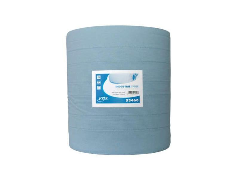 Euro Products Euro Products 3-laags Industriepapier blauw recycled verlijmd