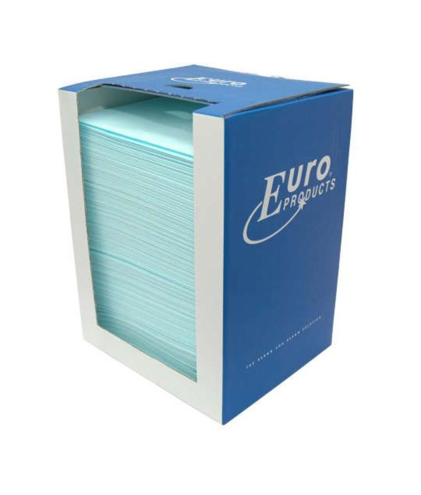 Euro Products Toptex, sky-blue in dispenserdoos