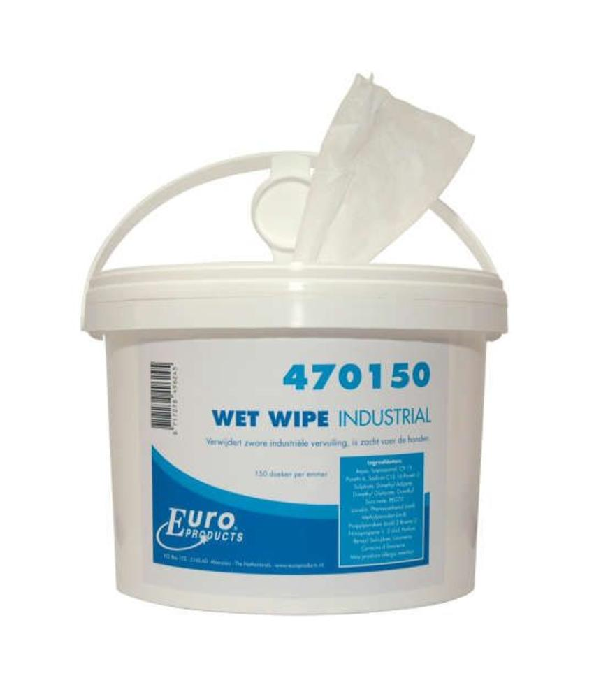 Euro Products Wet Wipe handcleaner industrial - 1 emmer