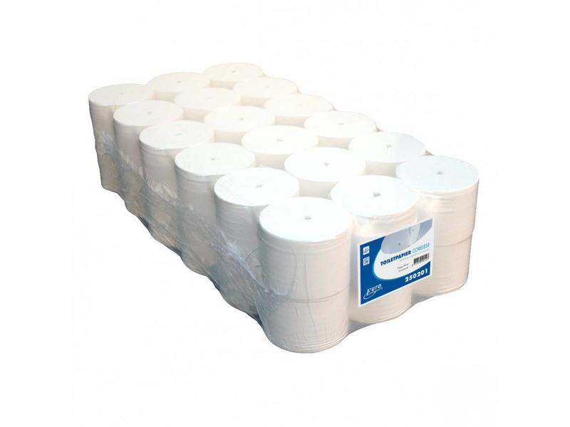 Euro Products Euro Products Toiletpapier Euro coreless, 1-laags