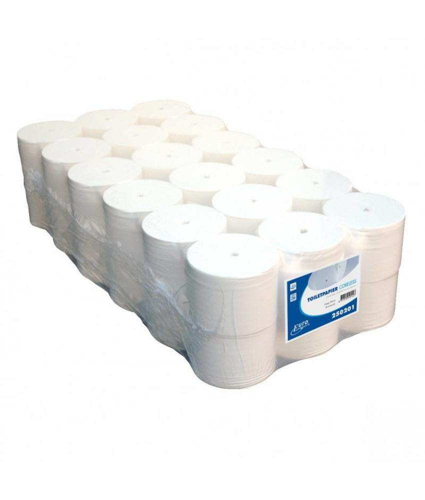 Euro Products Toiletpapier Euro coreless, 1-laags