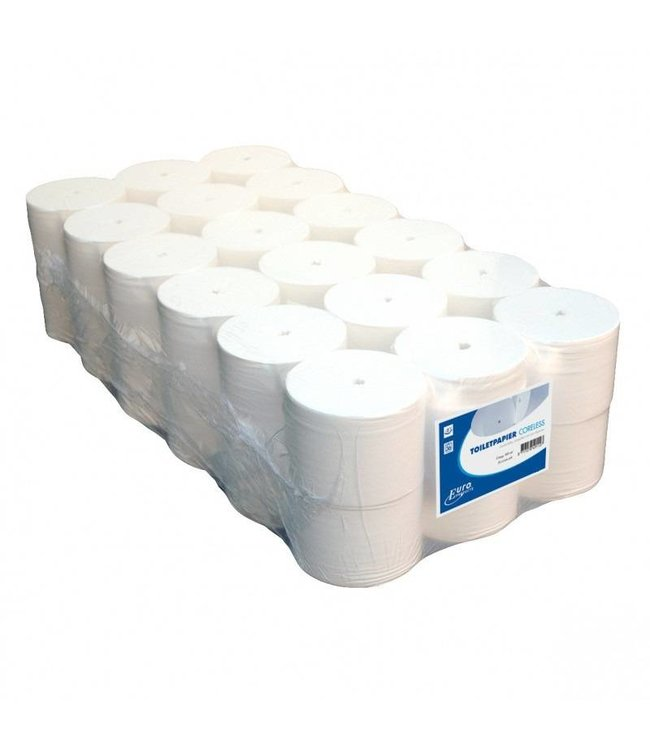 Euro Products Euro Products Toiletpapier Euro coreless, 2-laags