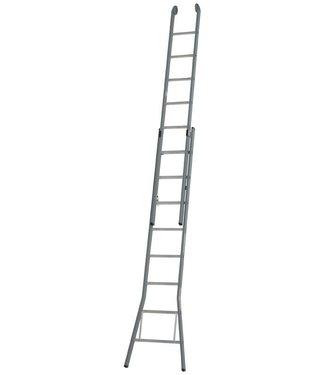 Dirks Tweedelige glazenwassersladder, 6,65M