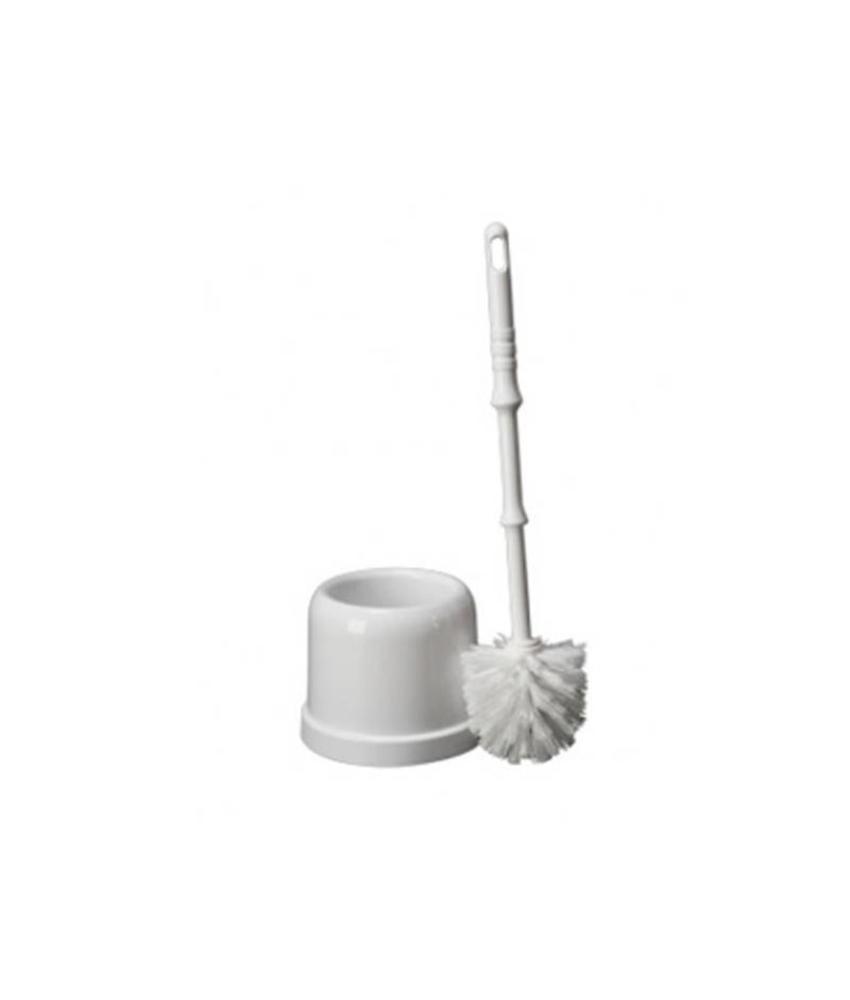 Plastic toiletborstelgarnituur MIDI - wit