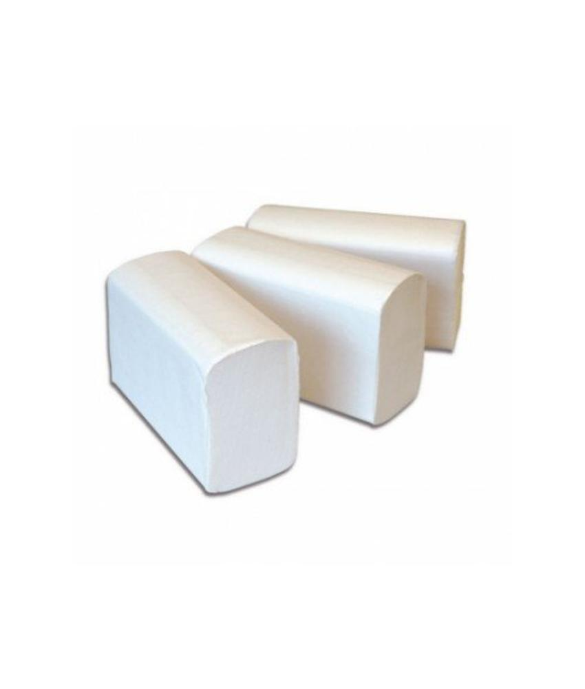 Euro Products 3 laags Vouwhanddoekjes Euro Interfold cellulose,