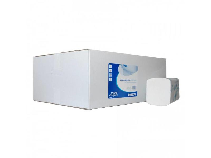 Euro Products Euro Products 2 laags Vouwhanddoekjes Euro Interfold cellulose