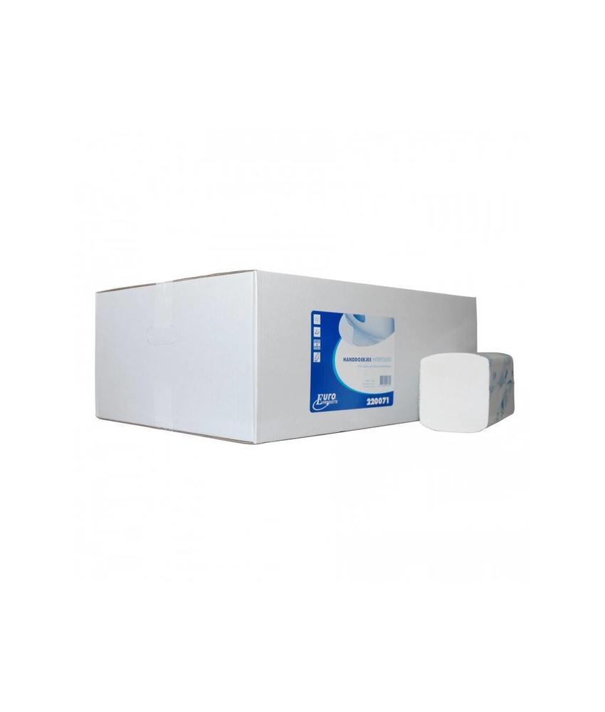 Euro Products 2 laags Vouwhanddoekjes Euro Interfold cellulose