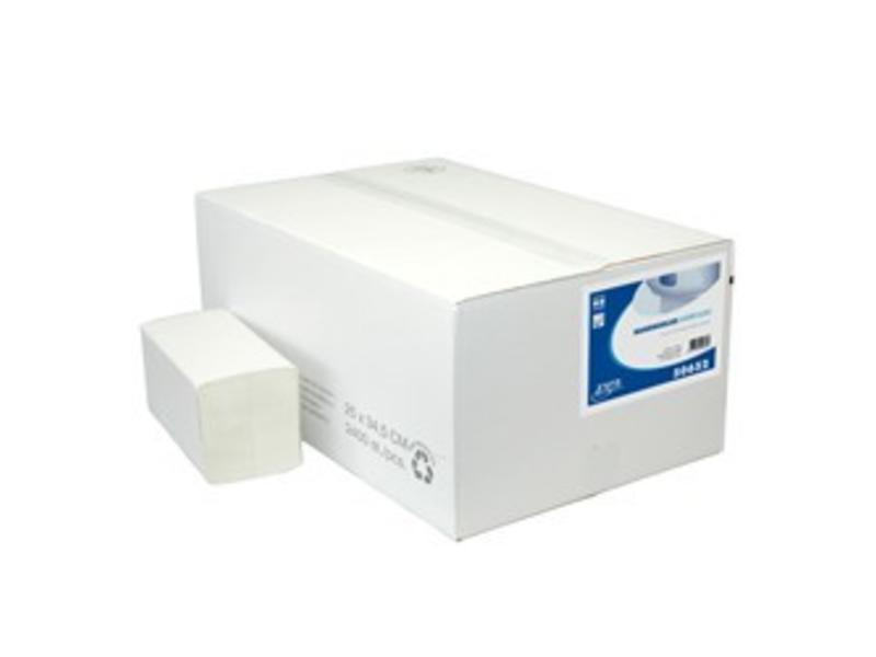 Euro Products Euro Products 2 laags Vouwhanddoekjes Euro Interfold tissue wit