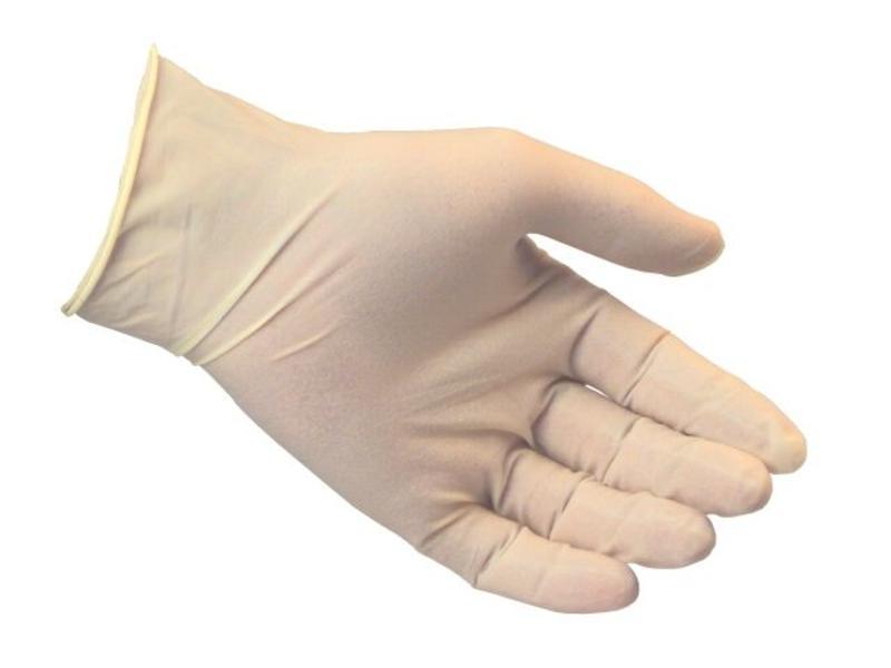 Latex handschoenen M