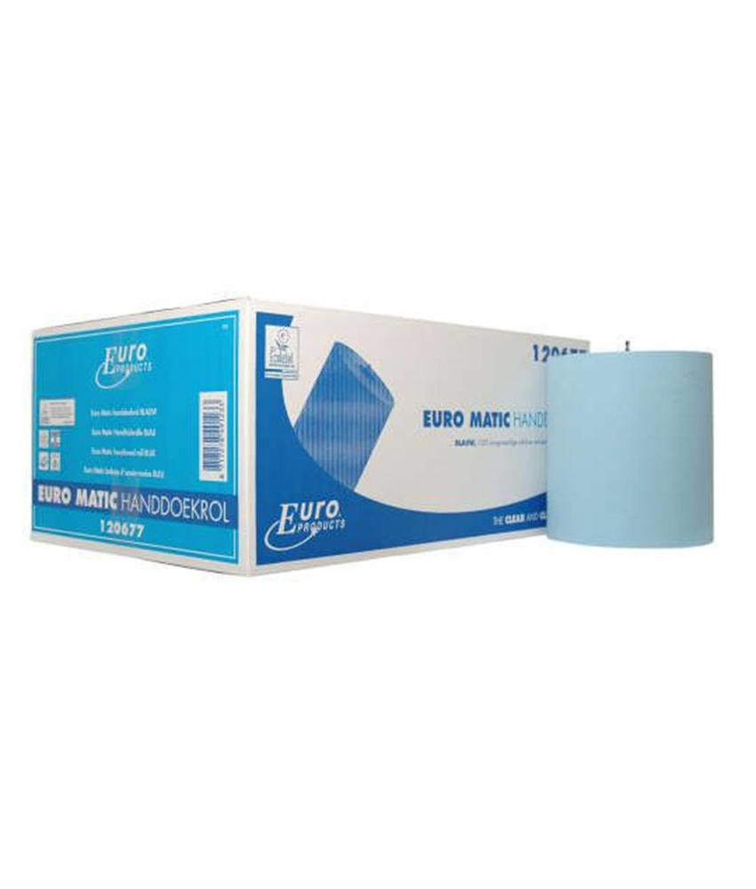 Euro Products 2-laags Papier Euro Matic plus blauw